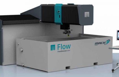 מכונה לחיתוך במים FLOW MACH-3 שנת 2013